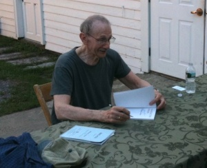 Philip Levine at Bread Loaf