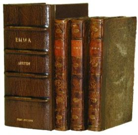 An 1816 first edition of Emma.