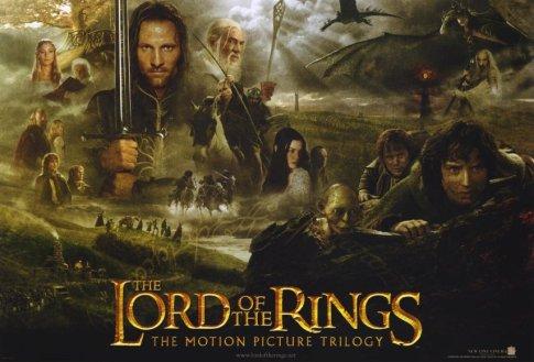 LOTR trilogy poster