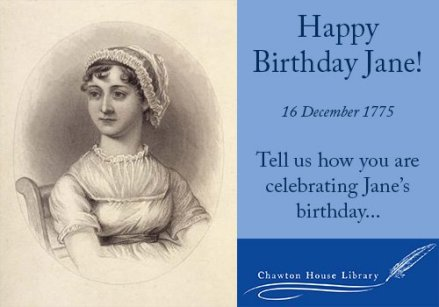 Jane Austen Birthday Chawton House Library