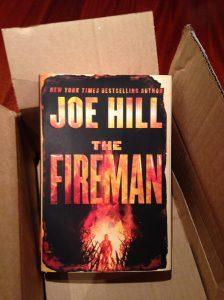 fireman in box